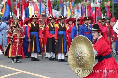 [#꿀잼여행] 수도권: 어영대장 납시오 조선무사들이 떴다…인천 화도진축제