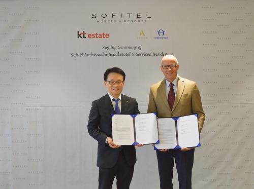 아코르 앰배서더, 국내 첫 소피텔 브랜드 호텔 2021년 개관