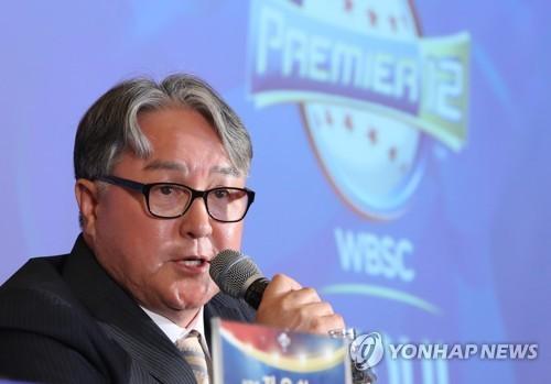 출사표 던지는 김경문 감독