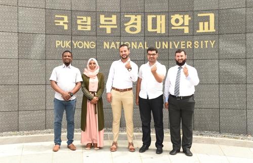 كوريا الجنوبية تنقل تقنيات استزراع للجمبري إلى الجزائر AAR20190704002100885_01_i_P4