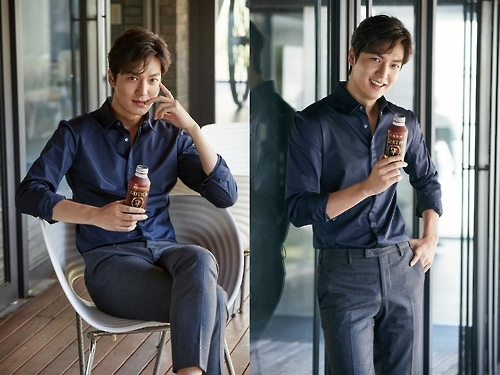 Actor Lee Min-ho (Yonhap)