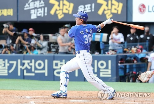 S. Korean career home run king back at work for final season