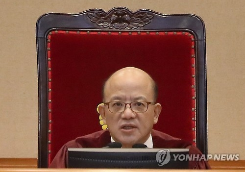 (2nd LD) Constitutional Court chief urges verdict on Park impeachment by March 13