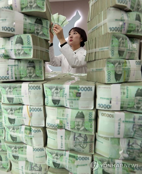 S. Korea's money supply up 5.9 pct in February: BOK - 1