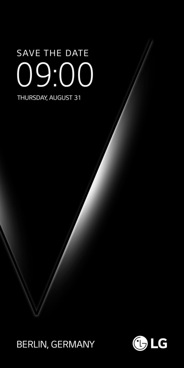 A teaser poster of the presumed V30 smartphone released by LG Electronics Inc. on July 13, 2017 (Yonhap)