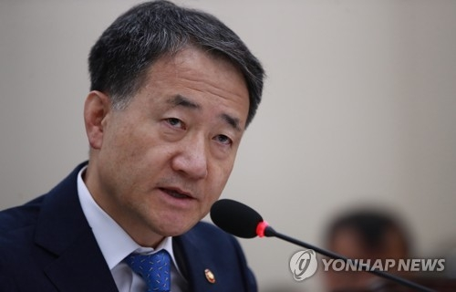 Health and Welfare Minister Park Neung-hoo (Yonhap)