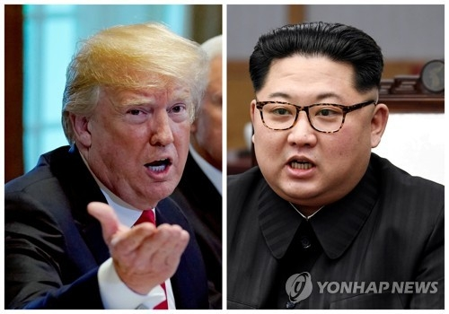 (LEAD) (News Focus) Kim Jong-un, Trump set for showdown on CVID, CVIG