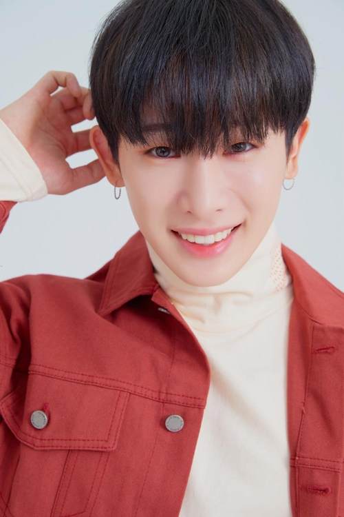 This photo of Wonho was provided by Starship Entertainment. (Yonhap)