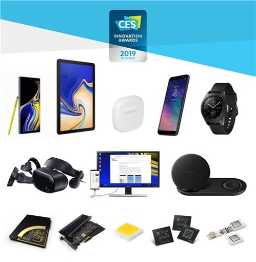 30 Samsung products picked as CES Innovation Awards winners