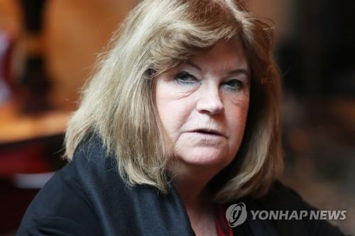 Gunilla Lindberg, head of the International Olympic Committee's Coordination Commission on the 2018 PyeongChang Winter Olympics, speaks to Yonhap News Agency in a interview in Seoul on Nov. 21, 2018. (Yonhap)