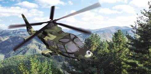 An image of a light armed helicopter (LAH) being developed by Korea Aerospace Industries (KAI) provided by the company. (Yonhap)