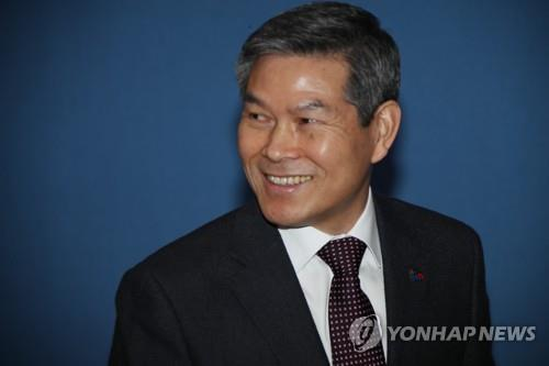 Defense Minister Jeong Kyeong-doo in a file photo (Yonhap)