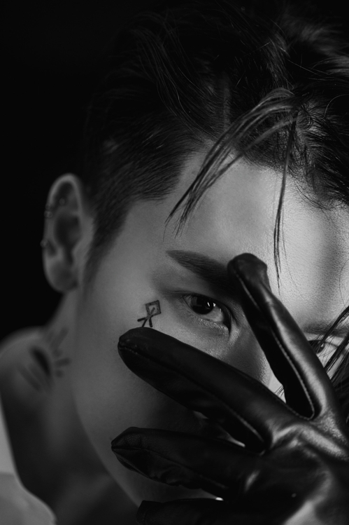 "This teaser image for Super Junior-D&E's upcoming album ""DANGER"" was provided by Label SJ. (Yonhap)"