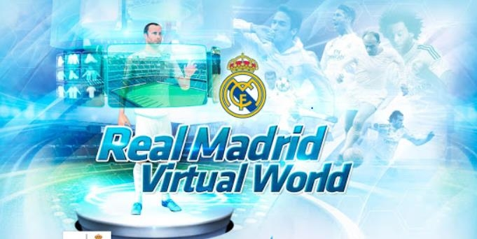 Real Madrid Virtual World's Webpage is shown in this photo captured on April 19, 2019. (Yonhap)