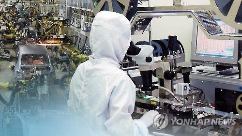 (2nd LD) Korea's industrial output rises 1.1 pct on-month in March - 1