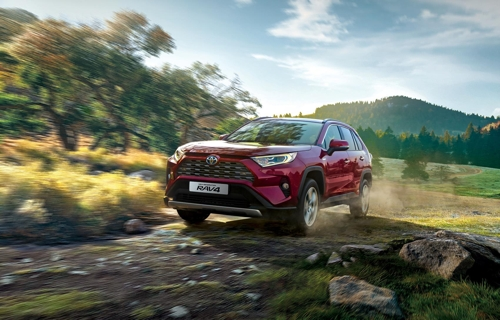 (LEAD) Toyota launches all-new RAV4 in S. Korea