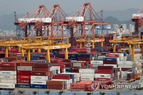 (2nd LD) S. Korea's exports set to fall for 9th straight month in August