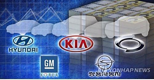 S. Korea's Sept. auto sales fall 2.3 pct amid global slowdown - 1