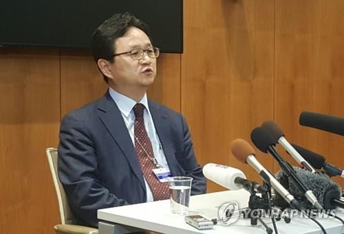 This photo shows Chung Hae-kwan, director-general of multilateral and legal affairs at South Korea's Ministry of Trade, Industry and Energy. (Yonhap)