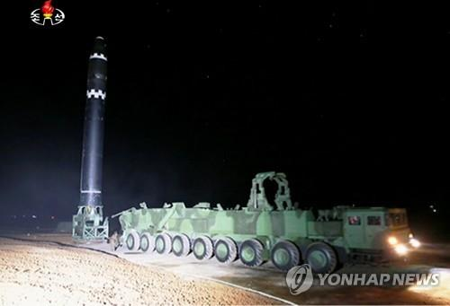 N. Korea likely seeking technical advance to fire ICBMs from mobile launchers: Seoul ministry
