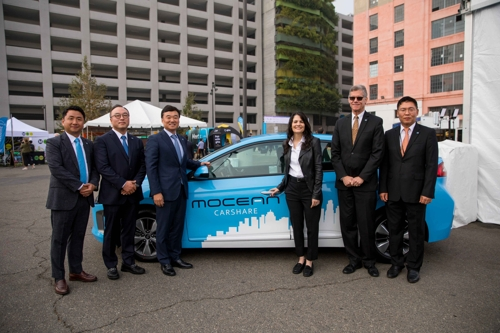(LEAD) Hyundai Motor launches mobility service venture in Los Angeles