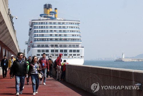 5,000 employees of Chinese firm visit S. Korea in incentive tour program