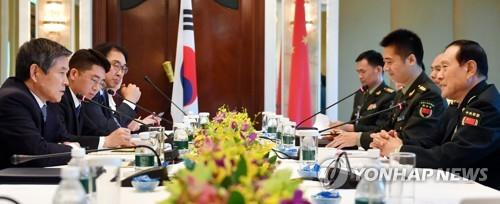 S. Korea, China hold working-level defense talks over peninsula peace, bilateral ties