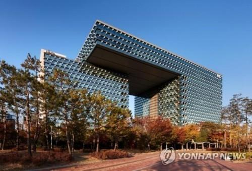 This file photo shows the headquarters of NCsoft Corp. in Bundang, southeast of Seoul. (Yonhap)
