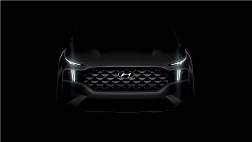 Hyundai teases upgraded Santa Fe ahead of June launch