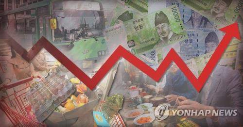 (2nd LD) Korea's inflation dips 0.3 pct in May, first fall in 8 months - 1