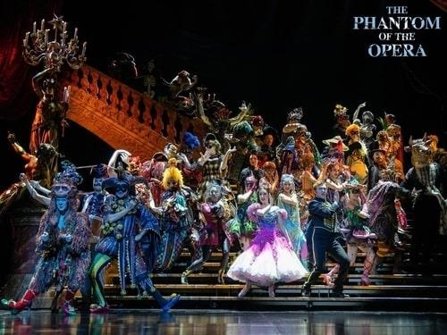 "This photo provided by Stagetalk shows a highlight from the 2020 Seoul tour of the musical ""The Phantom of the Opera."" (PHOTO NOT FOR SALE) (Yonhap)"