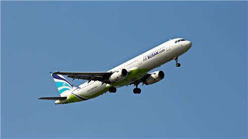 This file photo provided by Air Busan shows an A321-200 passenger jet. (PHOTO NOT FOR SALE) (Yonhap)