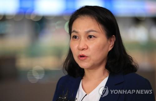 South Korea's Trade Minister Yoo Myung-hee (Yonhap)