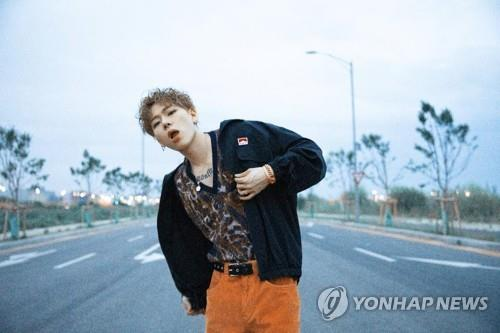 This photo, provided by KOZ Entertainment, shows K-pop singer and producer Zico. (PHOTO NOT FOR SALE) (Yonhap)