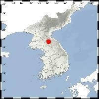 This map shows the epicenter of a 2.0 magnitude earthquake that hit southeastern North Korea on Aug. 1, 2020. (Yonhap)