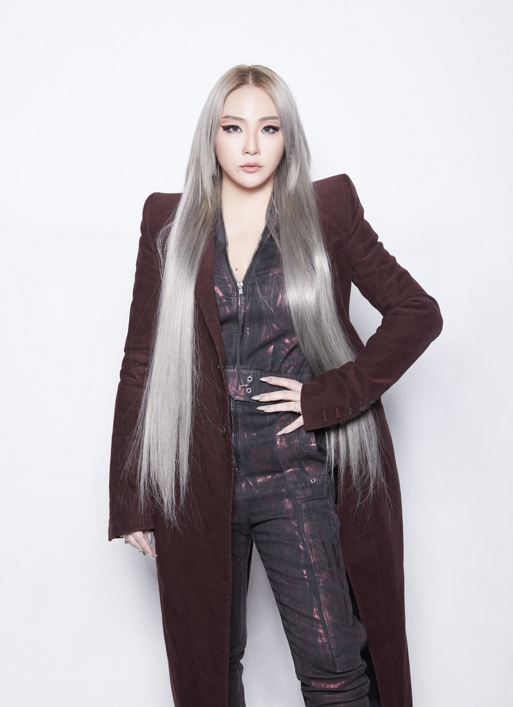 This photo, provided by CL, shows the singer posing during an online press conference in Seoul on Oct. 29, 2020. (PHOTO NOT FOR SALE) (Yonhap)