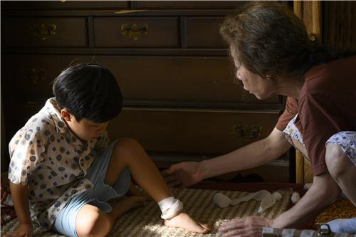 "This photo taken by Melissa Lukenbaugh and provided by A24 shows a scene from ""Minari."" (PHOTO NOT FOR SALE) (Yonhap)"