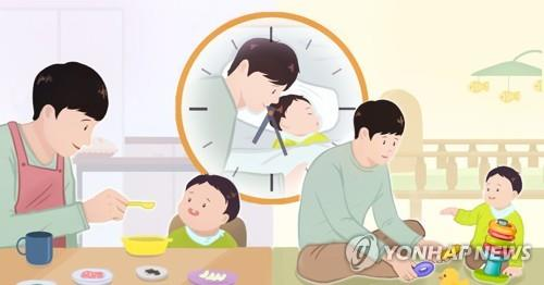 Number of S. Korean stay-at-home fathers hits new high in March - 1