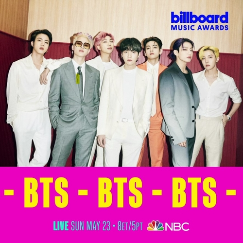 (LEAD) BTS to perform new single 'Butter' at Billboard Music Awards