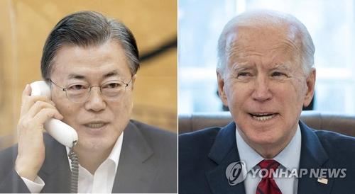Moon set for 5-day trip to U.S. for summit with Biden