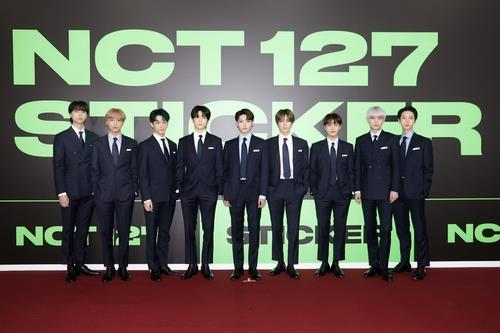 This photo, provided by SM Entertainment, shows NCT 127. (PHOTO NOT FOR SALE) (Yonhap)