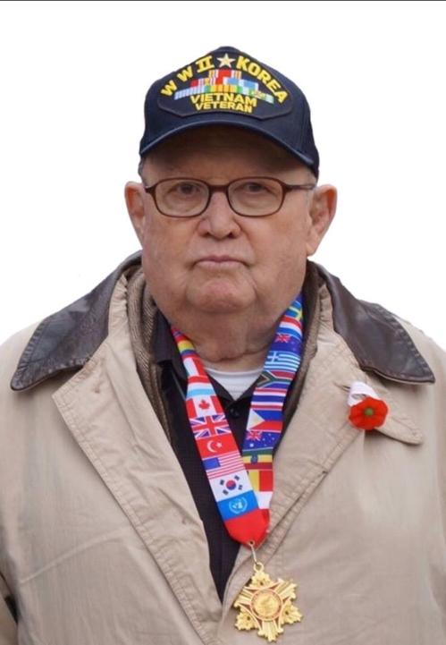 Kurt Dressler, vétéran américain ayant participé à la guerre de Corée (1950-1953). (Photo fournie par la famille de Dressler. Revente et archivage interdits)