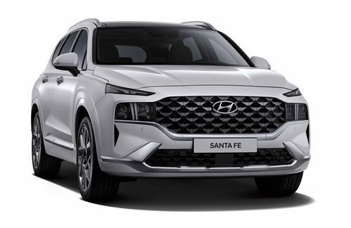 Hyundai's improved Santa Fe SUV. (Image provided by Hyundai Motor. Resale and archiving prohibited)