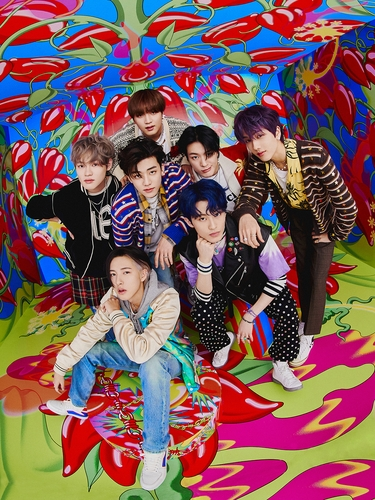 Le boys band de K-pop NCT Dream. (Photo fournie par SM Entertainment. Revente et archivage interdits)