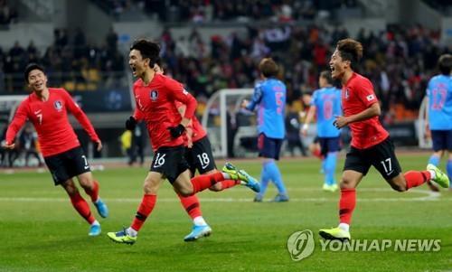 アジア サッカー 選手権 e 1 東