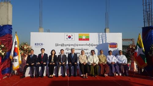 미얀마개발연구원 '단독청사' 착공