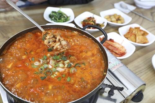 홍합탕 [사진/성연재 기자]