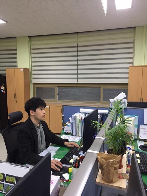 박진형 울진군 친환경농정과 주무관
