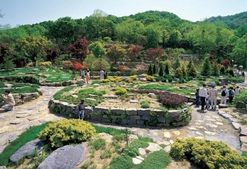 용인 한택식물원