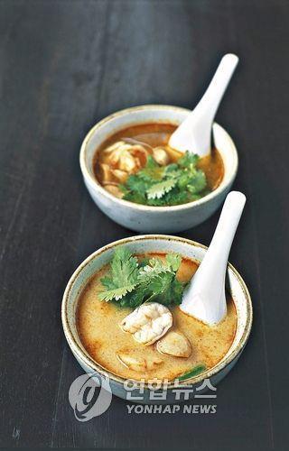 태국의 대표 음식인 똠얌꿍